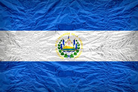 bandera de el salvador: El Salvador participaci�n de patr�n de bandera en Floyd de cubierta de caramelo, estilo de borde de la vendimia