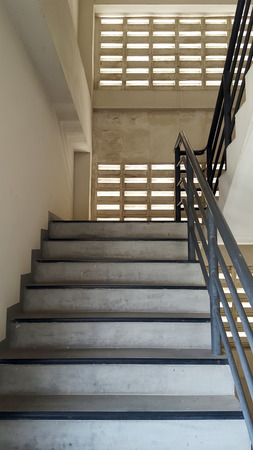 emergency exit: staircase for emergency exit