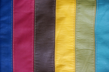 leatherette: Synthetic leather texture