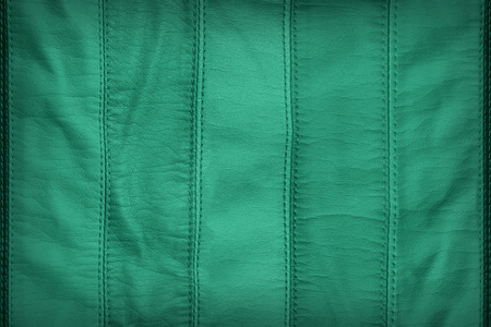 synthetic: Green synthetic leather texture