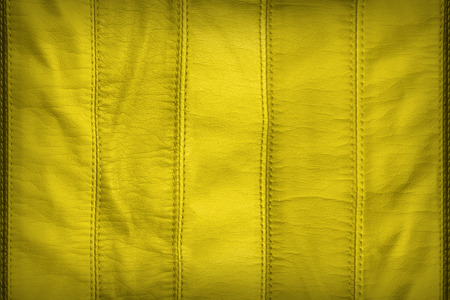 synthetic: Yellow synthetic leather texture