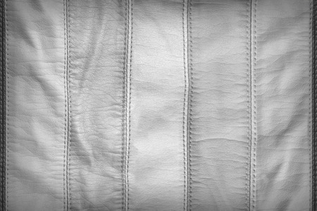 synthetic: White synthetic leather texture Stock Photo