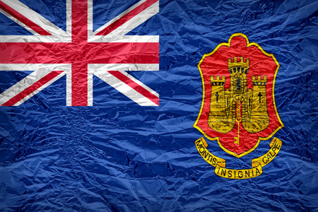 ensign: Government Ensign of Gibraltar flag pattern overlay on floyd of candy shell