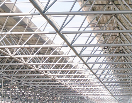 roof framework: Steel structures of roof