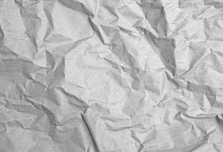 packing paper: crumpled packing paper