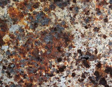 corten: Rusty and dirty steel surface texture
