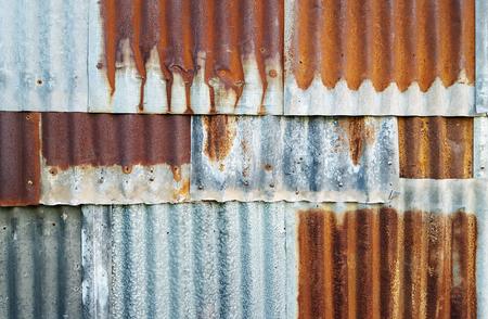 aluminum: old zinc texture