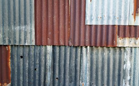 Oude zinkstructuur