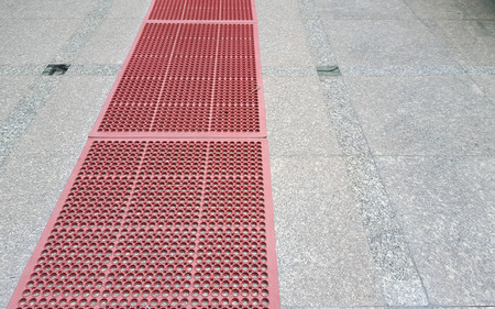 Rubber for prevent slip and floor hot Banque d'images