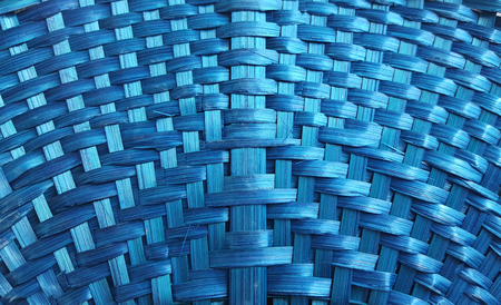 close up the bamboo fan texture Stock Photo
