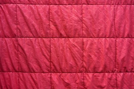 red blanket texture