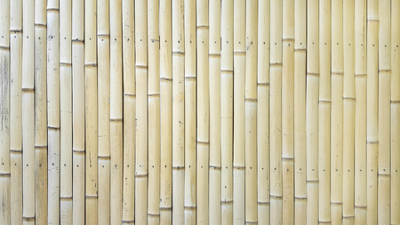 Bamboo ceiling wall Stock Photo
