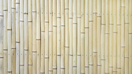 Bamboo ceiling wall Banco de Imagens