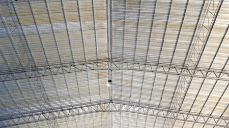 roof steel structure of fresh market
