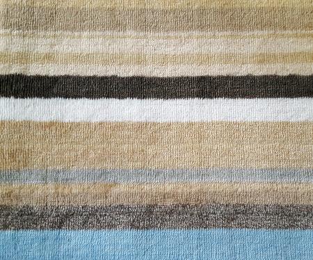 close up a door mat made from synthetic fibers Banco de Imagens