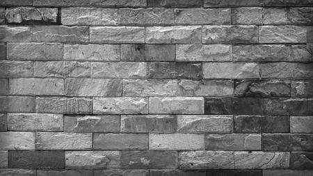 Stone brick wall texture Archivio Fotografico