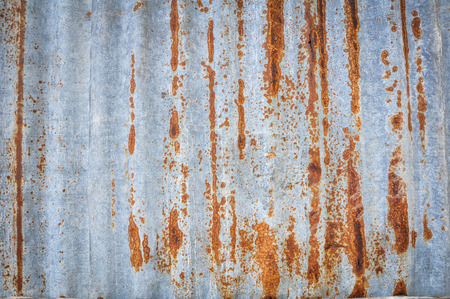 corrugated iron: rusty corrugated iron background