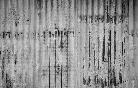 rusty: rusty corrugated iron background