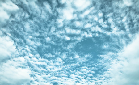 spacing: background abstract: blue sky and clouds