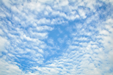 emulate: background abstract: blue sky and clouds