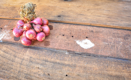 antecedents: Red Onions Stock Photo