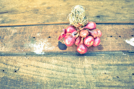 edibles: Red Onions Stock Photo
