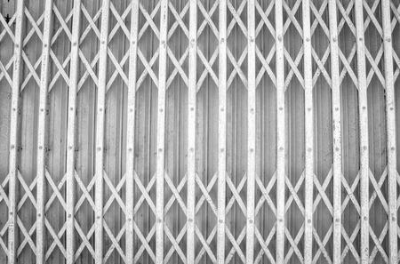 skim: Rusty steel door