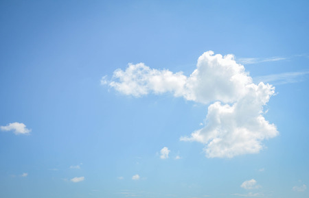 background abstract: blue sky and clouds