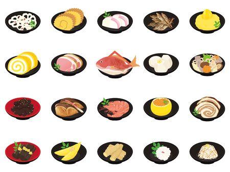 Osechi set  Osechi Japanese New Year dishes