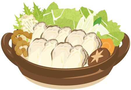 Kaki-nabe : Oyster hotpot / Japanese food