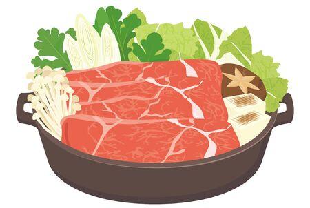 Sukiyaki : Beef Hot Pot/Japanese food