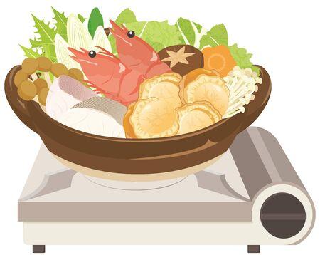 Kaisen-nabe : Potée de fruits de mer de la cuisine japonaise