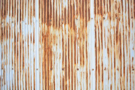 Old and rusty slate corrugated wall