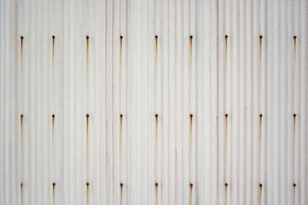 Old and rusty slate corrugated wall Imagens