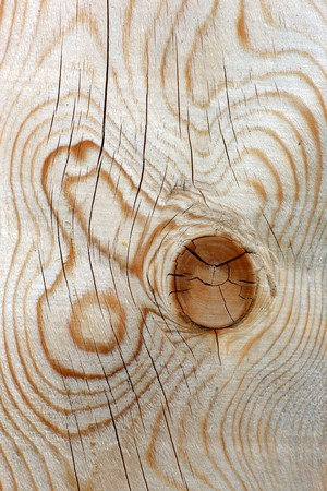 structured: Close view of a structured wood background with knots Stock Photo