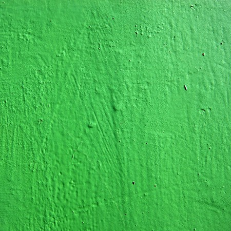Close view of a green colored metal background Stock Photo