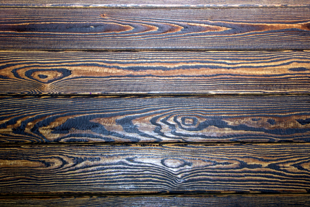 artificially: texture artificially aged varnished boards and interconnected Stock Photo