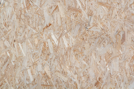 oriented: texture of oriented strand board, close up Stock Photo