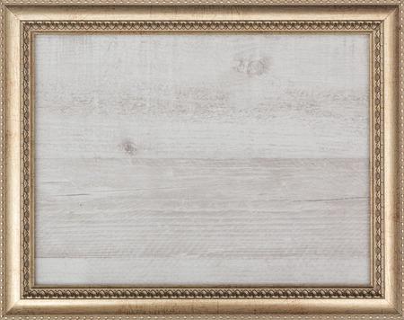 vergoldet leeren Bilderrahmen, Ansicht von oben