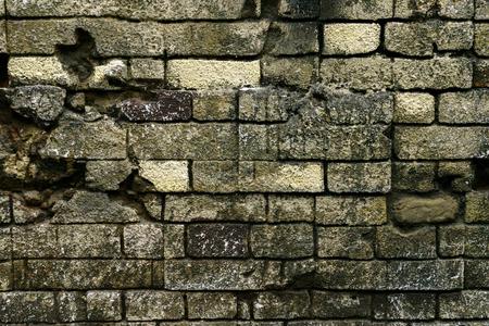 レンガのテクスチャ壁レンガの古い