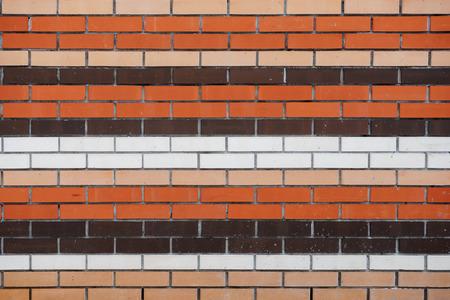 ブリックのレンガの壁のテクスチャ