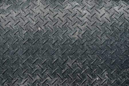 texture of metal sheet covered with rust, copyspace Standard-Bild