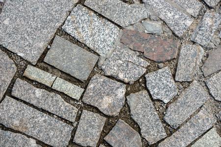Texture of rough decorative stone. Close up Standard-Bild