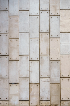 Texture of the brick wall of old gray brick