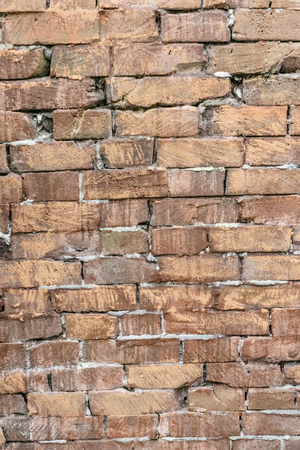 Texture of the brick wall of old brick Standard-Bild