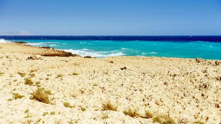 Rocky beach in Ayia Napa