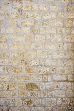texture wall covered with stone Standard-Bild