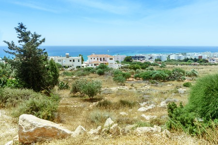 View of the city in Ayia Napa