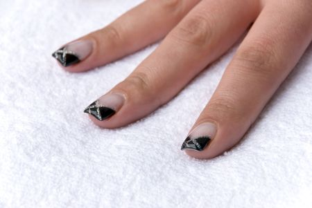Fingernails of the 19-year-old girl, of course-without retouching