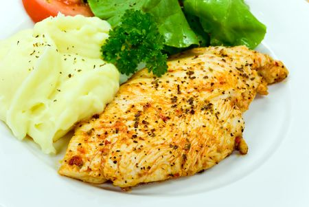 chicken breast -roasted